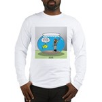 Fishbowl Hard Hat Diver Long Sleeve T-Shirt