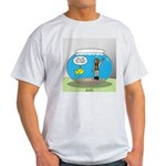 Fishbowl Hard Hat Diver Light T-Shirt