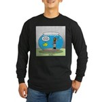 Fishbowl Hard Hat Diver Long Sleeve Dark T-Shirt