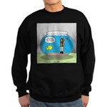 Fishbowl Hard Hat Diver Sweatshirt (dark)