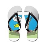 Fishbowl Hard Hat Diver Flip Flops