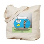 Fishbowl Hard Hat Diver Tote Bag