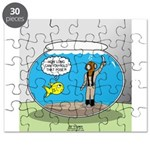 Fishbowl Hard Hat Diver Puzzle