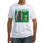 Problem Bears of Wisconsin Fitted T-Shirt