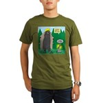 Problem Bears of Wisc Organic Men's T-Shirt (dark)