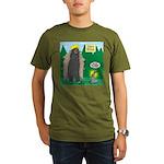 Problem Bears of Wisc Organic Men's T-Shirt (dark)