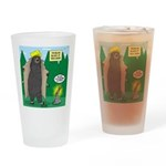 Problem Bears of Wisconsin Drinking Glass