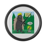 Problem Bears of Wisconsin Large Wall Clock