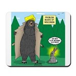 Problem Bears of Wisconsin Mousepad