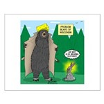 Problem Bears of Wisconsin Small Poster
