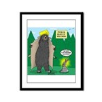 Problem Bears of Wisconsin Framed Panel Print