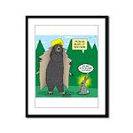 Problem Bears of Wisconsin Framed Panel Print