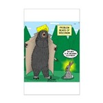 Problem Bears of Wisconsin Mini Poster Print