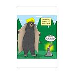 Problem Bears of Wisconsin Mini Poster Print