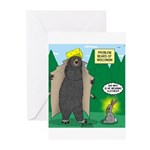 Problem Bears of Wiscons Greeting Cards (Pk of 10)