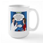 Dentist Dating Large Mug