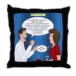Dentist Dating Throw Pillow