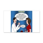 Dentist Dating 20x12 Wall Decal