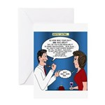 Dentist Dating Greeting Card
