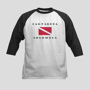 Cartagena Colombia Dive Baseball Jersey