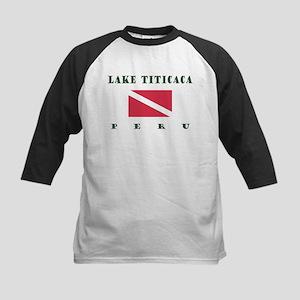 Lake Titicaca Peru Dive Baseball Jersey