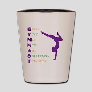 Gymnast Success Shot Glass