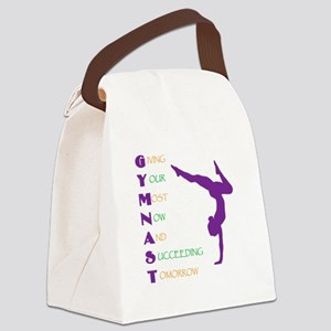 Gymnast Success Canvas Lunch Bag