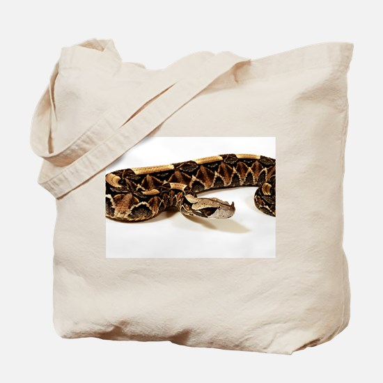 Bitis Gabonica Viper Tote Bag
