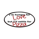 Hungry For Love And Pizza Patches
