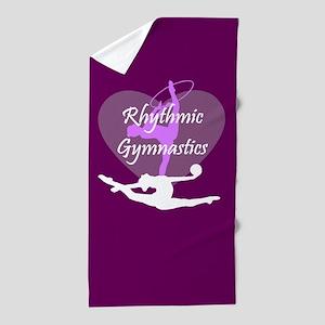 Rhythmic Gymnastics Beach Towel
