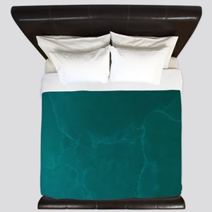 Blue Green Night King Duvet