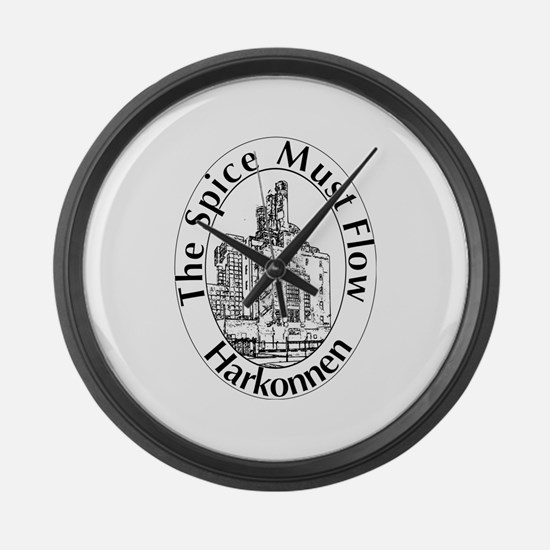 The Spice Must Flow Large Wall Clock