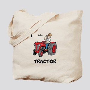 T is for Tractor Tote Bag