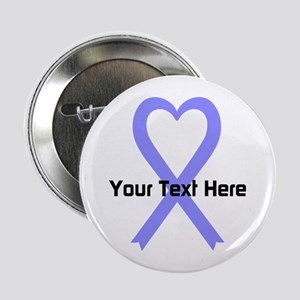 """Personalized Periwinkle Rib 2.25"""" Button (10 pack)"""
