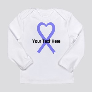 Personalized Periwinkle Long Sleeve Infant T-Shirt