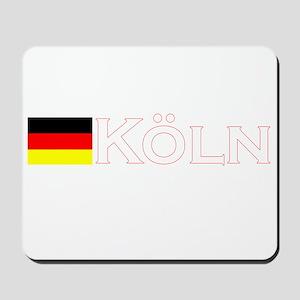 Koln, Deutschland Mousepad
