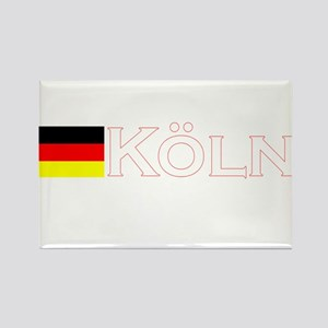 Koln, Deutschland Rectangle Magnet