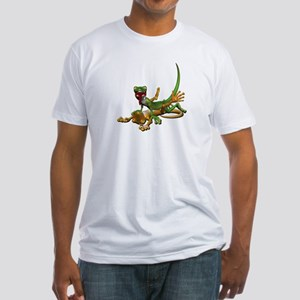 Gecko Sex Fitted T-Shirt