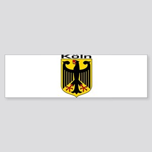 Koln, Deutschland Bumper Sticker