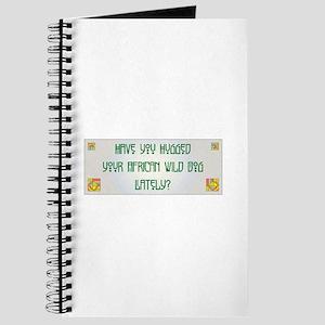 Hugged Wild Dog Journal