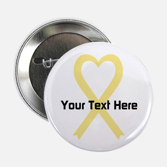 """Personalized Pale Yellow Ri 2.25"""" Button (10 pack)"""