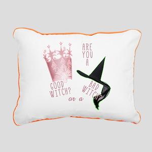 good bad witches Rectangular Canvas Pillow