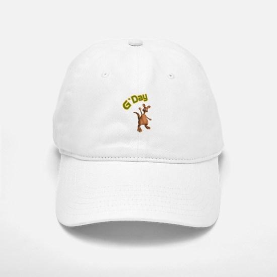 G'Day Australian Kangaroo Baseball Baseball Cap