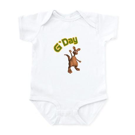 G'Day Australian Kangaroo Infant Bodysuit