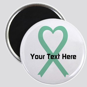 "Personalized Light Green Ri 2.25"" Magnet (10 pack)"