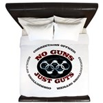 No Guns Just Guts King Duvet
