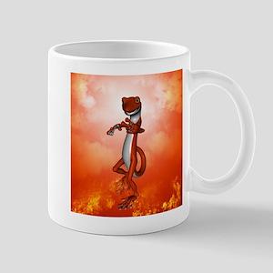 Funny gecko Mugs