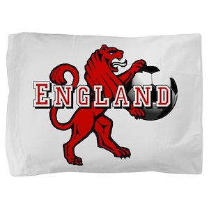 England Football Lion Pillow Sham