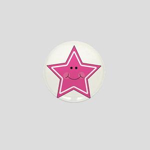 happy star Mini Button