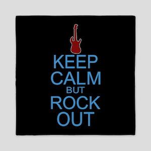 Keep Calm Rock Out Queen Duvet